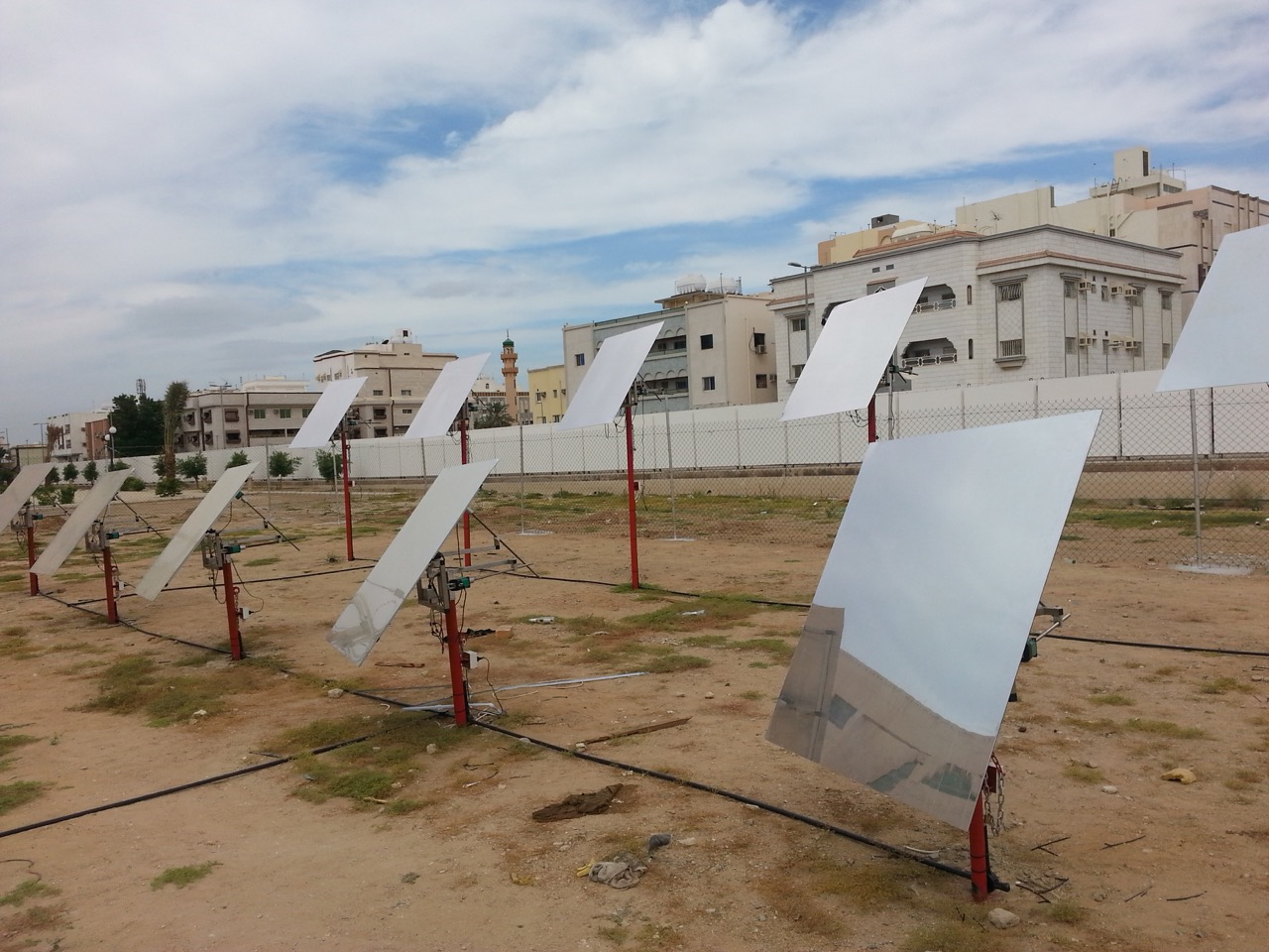 H1 Heliostat Array, Saudi Arabia