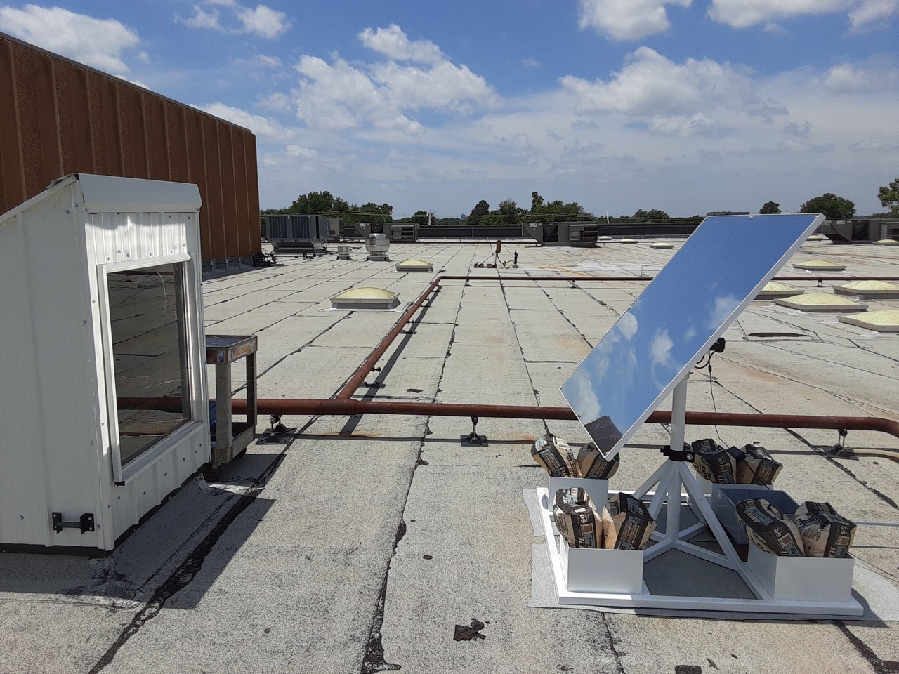 OKC Oklahoma Science Museum Heliostat LightManufacturing H1