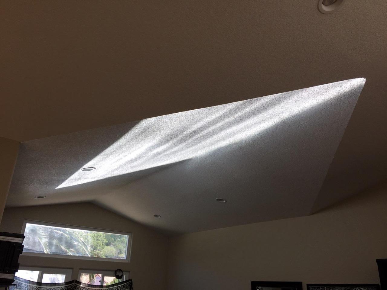 H1 Heliostat Oceanside CA Residential Installation - interior light