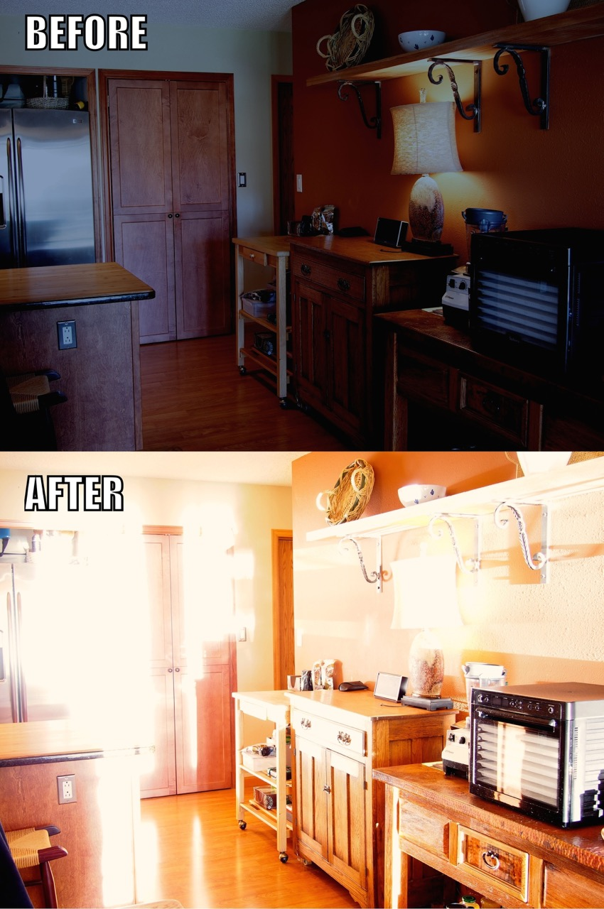 Colorado Residential Heliostat Installation, H1 Heliostat  Before / After