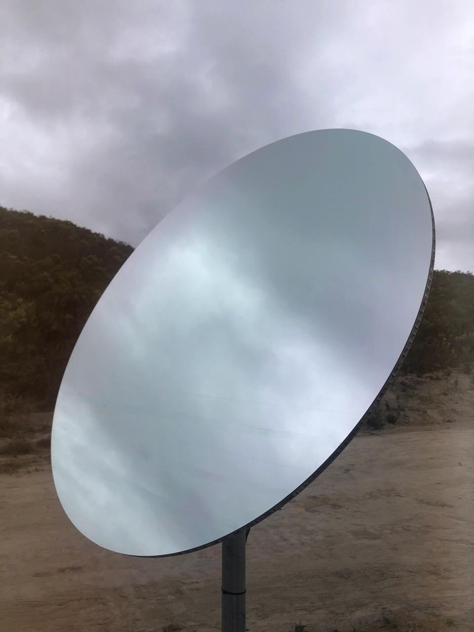 Sharjah Art Institute, Custom H1 Heliostat Round Mirror