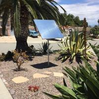 H1 Heliostat Oceanside CA Residential Installation - exterior view
