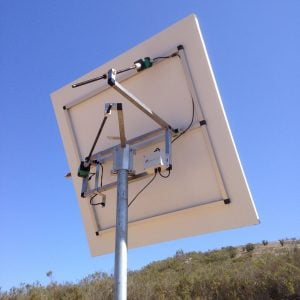 H1 Heliostat, v12, Back View