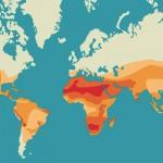 Molding Range - 49% of Earth's Land Area